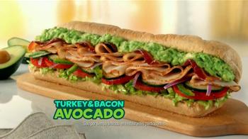 Subway Turkey and Bacon Avocado TV Spot, 'Temporada de Aguacates' [Spanish] - Thumbnail 7