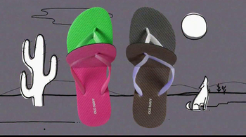 Old Navy $1 Flip Flops TV Spot - Thumbnail 4
