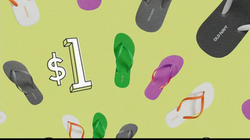 Old Navy $1 Flip Flops TV Spot - Thumbnail 7