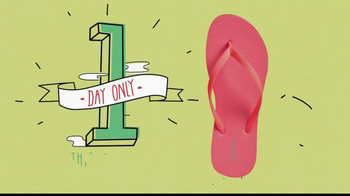 Old Navy $1 Flip Flops TV Spot - Thumbnail 8