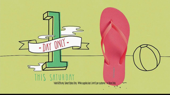 Old Navy $1 Flip Flops TV Spot - Thumbnail 9