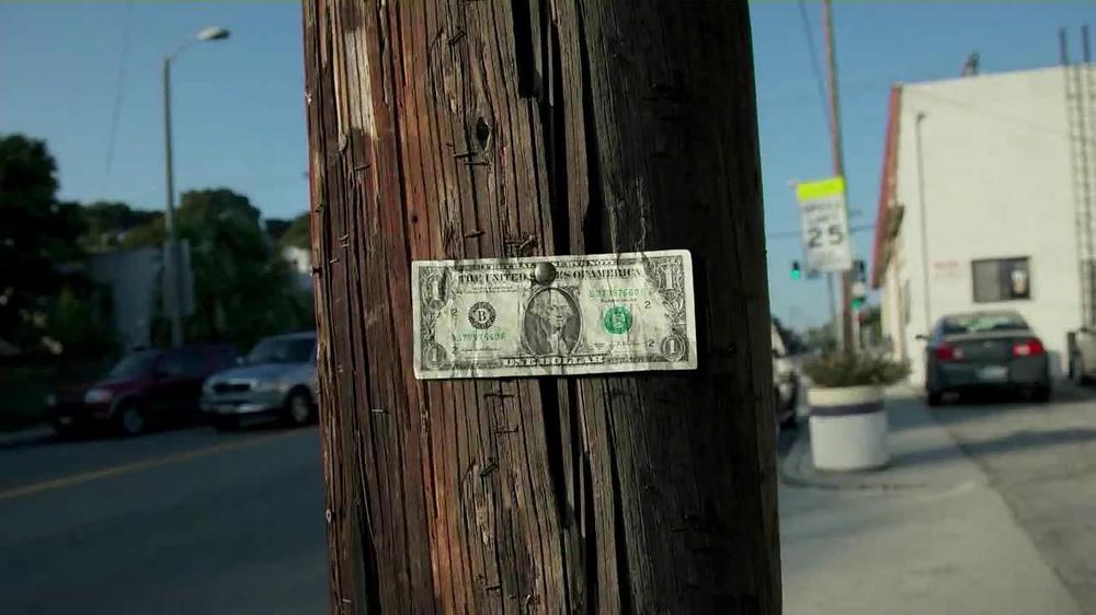 Esurance TV Commercial, 'One Dollar Bill'