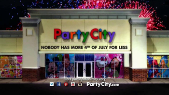 Party City TV Spot, 'Fourth of July' - Thumbnail 10