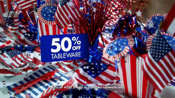 Party City TV Spot, 'Fourth of July' - Thumbnail 5