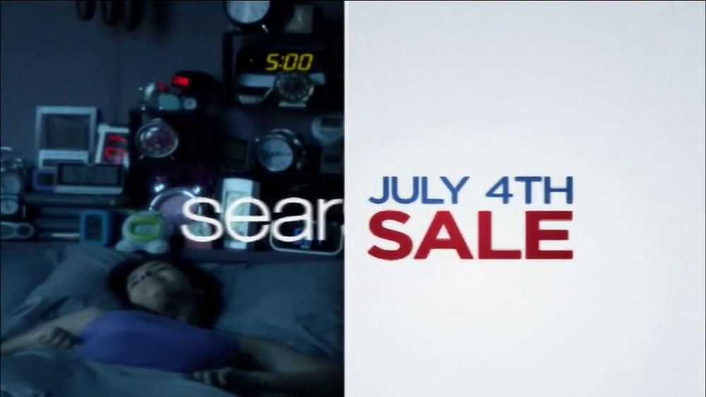 Sears July Fourth Mattress Spectacular Tv Commercial