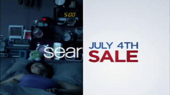 Sears July Fourth Mattress Spectacular TV Spot, 'Alarms' - Thumbnail 3