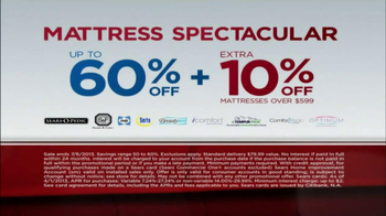 Sears July Fourth Mattress Spectacular TV Spot, 'Alarms' - Thumbnail 5