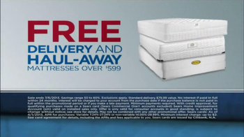 Sears July Fourth Mattress Spectacular TV Spot, 'Alarms' - Thumbnail 8