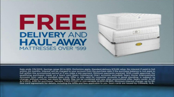 Sears July Fourth Mattress Spectacular TV Spot, 'Alarms' - Thumbnail 9