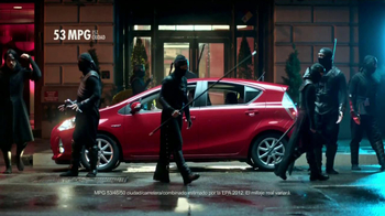 Toyota Prius C TV Spot, 'Ninjas' [Spanish] - 35 commercial airings