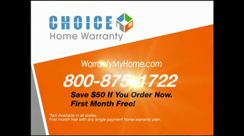 Choice Home Warranty TV Spot, 'Comprehensive Coverage' - Thumbnail 9