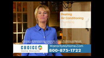 Choice Home Warranty TV Spot, 'Comprehensive Coverage'