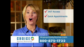 Choice Home Warranty TV Spot, 'Comprehensive Coverage' - Thumbnail 4