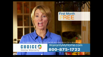 Choice Home Warranty TV Spot, 'Comprehensive Coverage' - Thumbnail 6