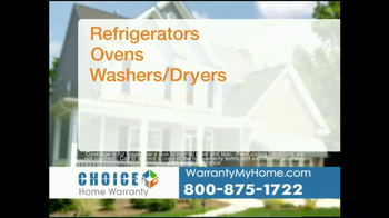 Choice Home Warranty TV Spot, 'Comprehensive Coverage' - Thumbnail 7