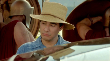 Toyota Prius V TV Spot, 'Gladiadores' [Spanish] - Thumbnail 6