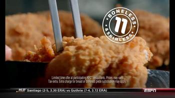 KFC Boneless Original Recipe TV Spot 'Kids ate the Bones' - Thumbnail 10