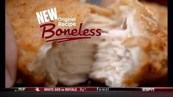 KFC Boneless Original Recipe TV Spot 'Kids ate the Bones' - Thumbnail 9