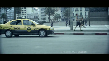 Gillette Clear Gel TV Spot, 'Taxi' [Spanish] - Thumbnail 8