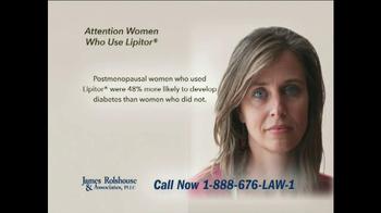James Rolshouse and Associates TV Spot, \'Women on Lipitor\'