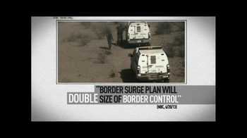 American Action Network TV Spot, 'The Border Surge' - Thumbnail 2