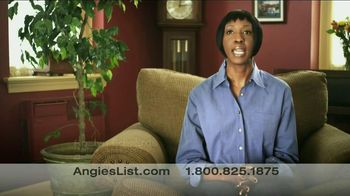 Angie's List TV Spot, 'Who To Call'