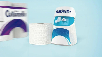 Cottonelle Clean Care TV Spot, 'Clean Hair Without Water' - Thumbnail 10