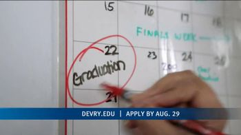 DeVry University Career Catalyst Scholarship TV Spot, 'Now's the Time'