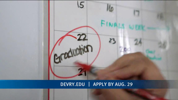 DeVry University Career Catalyst Scholarship TV Spot, \'Now\'s the Time\'