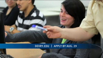 DeVry University Career Catalyst Scholarship TV Spot, 'Now's the Time' - Thumbnail 2
