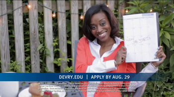 DeVry University Career Catalyst Scholarship TV Spot, 'Now's the Time' - Thumbnail 3