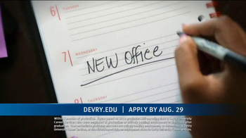 DeVry University Career Catalyst Scholarship TV Spot, 'Now's the Time' - Thumbnail 4