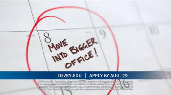 DeVry University Career Catalyst Scholarship TV Spot, 'Now's the Time' - Thumbnail 5