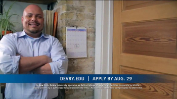 DeVry University Career Catalyst Scholarship TV Spot, 'Now's the Time' - Thumbnail 6