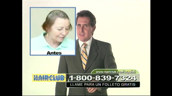 Hair Club TV Spot, 'Forma Natural' [Spanish] - Thumbnail 1