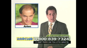 Hair Club TV Spot, 'Forma Natural' [Spanish]