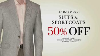 JoS. A. Bank TV Spot, '50% off Sale' - Thumbnail 3
