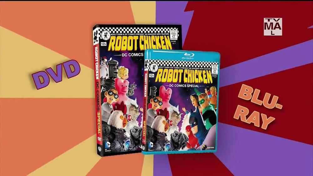 robot chicken dc comics special blu ray and dvd tv spot ispot tv