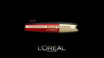 L'Oreal Voluminous Million Lashes Excess TV Spot Featuring Eva Longoria - Thumbnail 9