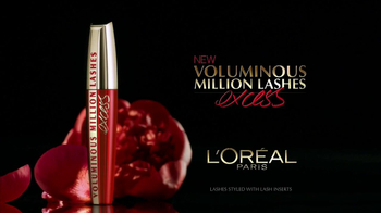 L'Oreal Voluminous Million Lashes Excess TV Spot Featuring Eva Longoria - Thumbnail 2