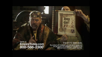 Empire Today TV Spot, 'Royal Court'