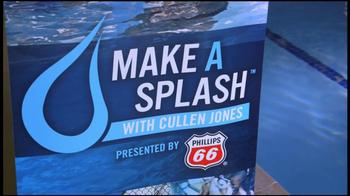 Phillips 66 Make A Splash TV Spot Featuring Cullen Jones - Thumbnail 7