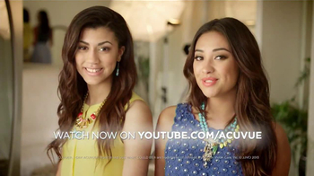 ACUVUE Moist TV Spot Featuring Shay Mitchell - 90 commercial airings