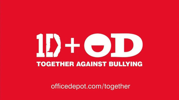 Office Depot TV Spot, 'Together' Featuring One Direction - Thumbnail 10