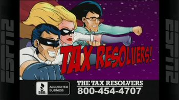 The Tax Resolvers TV Spot, 'Superhero Team'