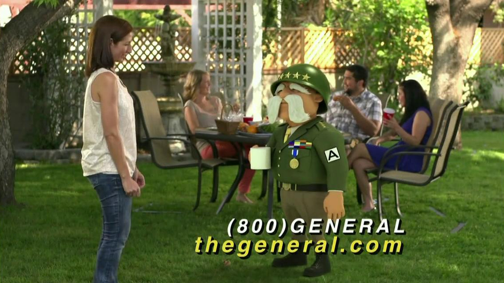 The General TV Commercial, 'Barbecue' - iSpot.tv