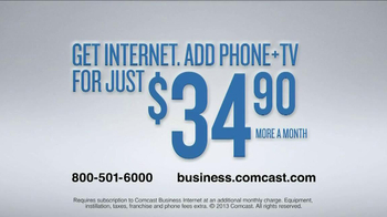Comcast Business TV Spot, 'Presentation' - Thumbnail 10