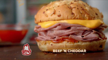 Arby's Beef 'N Cheddar Classic TV Spot - Thumbnail 2