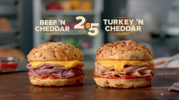Arby's Beef 'N Cheddar Classic TV Spot - Thumbnail 7