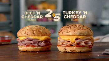 Arby's Beef 'N Cheddar Classic TV Spot - Thumbnail 8